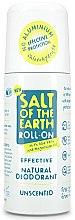 Парфюми, Парфюмерия, козметика Рол-он дезодорант - Salt of the Earth Effective Unsented Roll-On Deo