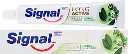 Парфюмерия и Козметика Паста за зъби за защита на венците - Signal Long Active Nature Elements