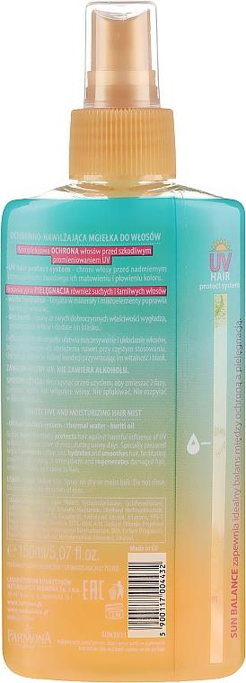 Хидратиращ спрей за коса - Farmona Sun Balance Hair Mist — снимка N2
