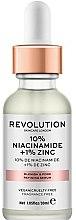 Парфюмерия и Козметика Серум за разширени пори - Revolution Skincare 10% Niacinamide + 1% Zinc