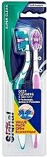 Парфюми, Парфюмерия, козметика Комплект меки четки за зъби - Signal Super Clean Deep Cleaninig V-Bristles