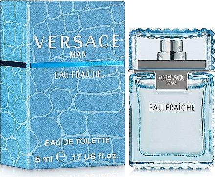 Versace Man Eau Fraiche - Тоалетна вода (мини)  — снимка N1