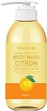 Парфюмерия и Козметика Душ гел с екстракт от цитруси - Welcos Around Me Natural Perfume Vita Body Wash Citron