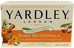 Парфюми, Парфюмерия, козметика Сапун за чувствителна кожа - Yardley Shea Buttermilk Soap