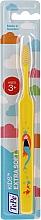 Парфюмерия и Козметика Детска четка за зъби 3 +, жълта - TePe Kids Extra Soft