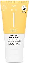 Парфюмерия и Козметика Слънцезащитен крем за лице - Naif Sunscreen Face Spf30