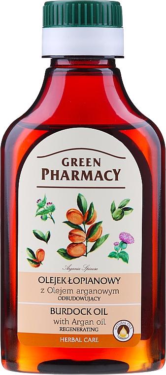 Масло от репей с арганово масло - Green Pharmacy