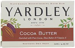 "Парфюми, Парфюмерия, козметика Сапун ""Какаово масло"" - Yardley Cocoa Butter Soap"