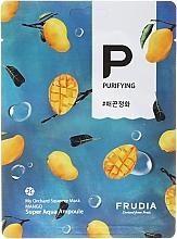 Парфюмерия и Козметика Памучна маска за лице с манго - Frudia My Orchard Squeeze Mask Mango