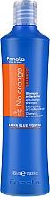 Парфюмерия и Козметика Шампоан за боядисана коса с тъмни нюанси - Fanola No Orange Extra Blue Pigment Shampoo