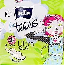 Парфюмерия и Козметика Дамски превръзки For Teens Ultra Relax, 10 бр. - Bella