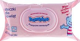 Парфюми, Парфюмерия, козметика Детски мокри кърпи - Nivea Bambino Wipes