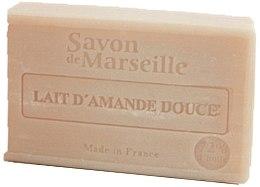 """Парфюмерия и Козметика Натурален сапун """"Мляко от сладък бадем"""" - Le Chatelard 1802 Soap Almond Milk"""