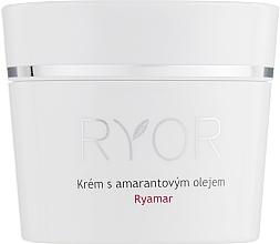 Парфюмерия и Козметика Крем за лице с амарантово масло за много чувствителна кожа - Ryor Ryamar