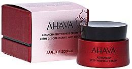 Парфюмерия и Козметика Крем за лице против дълбоки бръчки - Ahava Apple Of Sodom Advanced Deep Wrinkle Cream