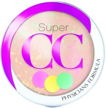 Парфюмерия и Козметика Пудра за лице - Physicians Formula Super CC Color-Correction + Care CC Powder SPF 30