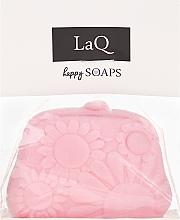 """Парфюмерия и Козметика Ръчно изработен натурален сапун """"Портмоне"""" с аромат на вишна - LaQ Happy Soaps Natural Soap"""