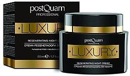 Парфюмерия и Козметика Нощен крем за лице - Postquam Luxury Gold Regenerating Night Cream