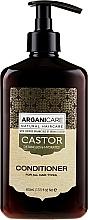 Парфюмерия и Козметика Балсам за растеж на косата - Arganicare Castor Oil Conditioner