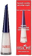 Парфюми, Парфюмерия, козметика Укрепващо средство за нокти - Herome Nail Hardener Extra Strong