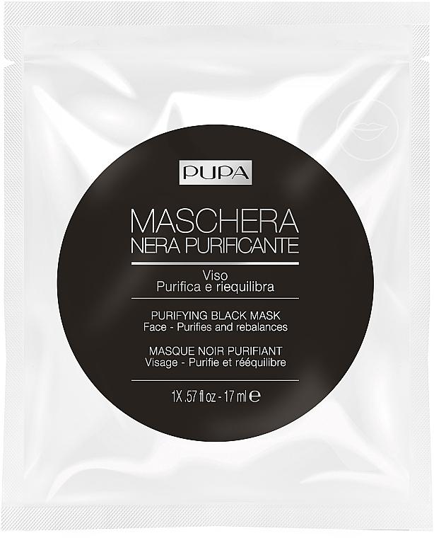 Почистваща маска за лице - Pupa Purifying Black Mask — снимка N1