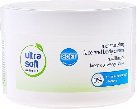 Овлажняващ крем за лице и тяло - Tolpa Ultra Soft Naturals Moisturising Face and Body Cream — снимка N3