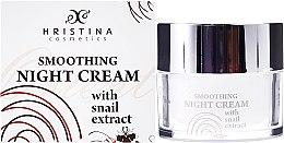 Парфюми, Парфюмерия, козметика Нощен крем за лице с екстракт от охлюв - Hristina Cosmetics Orient Snail Night Cream