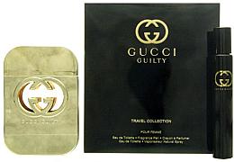 Парфюми, Парфюмерия, козметика Gucci Guilty - Комплект тоалетна вода (edt/75ml + edt/7.4ml)