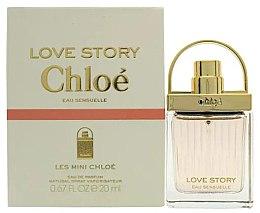 Парфюмерия и Козметика Chloe Love Story Eau Sensuelle - Парфюмна вода (тестер без капачка)