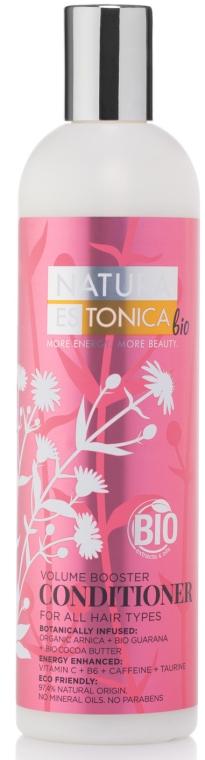 """Балсам за всеки тип коса """" Засилващ обем"""" - Natura Estonica Volume Booster Conditioner"""