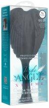 Парфюми, Парфюмерия, козметика Черна четка за коса - Tangle Angel Xtreme Brush Black and Purple (23 см)