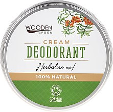 Парфюмерия и Козметика Крем-дезодорант - Wooden Spoon Herbalise Me Cream Deodorant