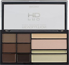 Парфюмерия и Козметика Палитра за оформяне на вежди - Makeup Revolution HD Pro Brows