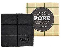 Парфюми, Парфюмерия, козметика Натурален черен сапун за лице и тяло - Klairs Gentle Black Sugar Charcoal Soap