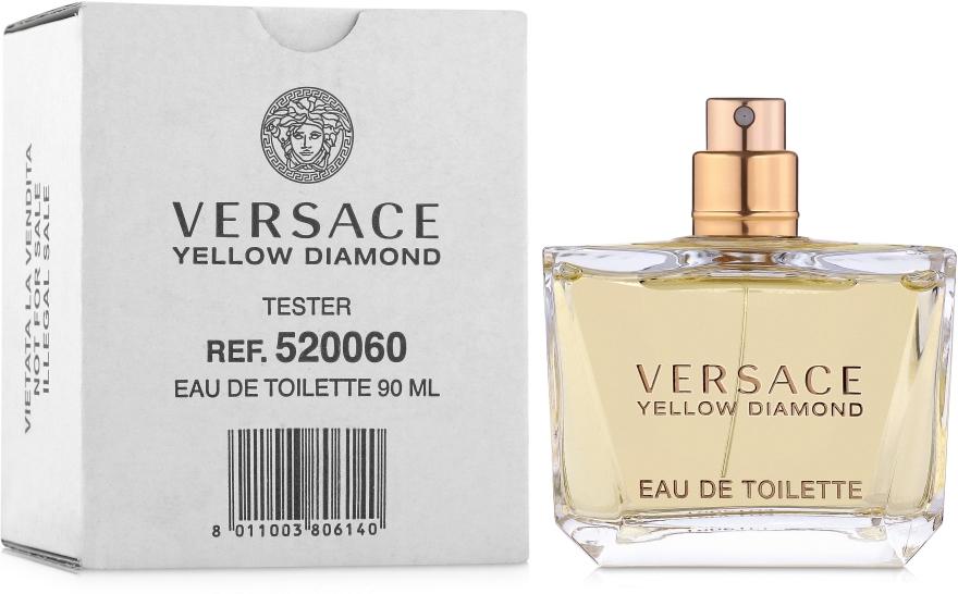 Versace Yellow Diamond - Тоалетна вода (тестер без капачка)  — снимка N2