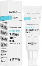 Парфюмерия и Козметика Активен клетъчен овлажняващ крем за лице с тониращ ефект за тен - La Biosthetique Dermosthetique Hydro-Actif Traitement Teint Soleil