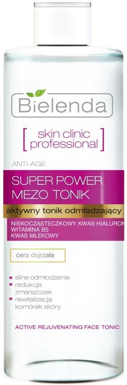 Активен тоник против стареене - Bielenda Skin Clinic Professional Mezo
