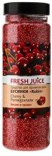 Парфюмерия и Козметика Перли за вана - Fresh Juice Bath Bijou Rubin Cherry and Pomergranate