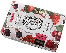 Парфюмерия и Козметика Сапун - Panier Des Sens Extra Gentle Natural Soap with Shea Butter Red Berries
