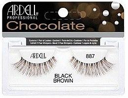 Парфюми, Парфюмерия, козметика Изкуствени мигли - Ardell Chocolate Lash Black Brown 887