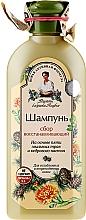 Парфюмерия и Козметика Възстановяващ шампоан - Рецептите на баба Агафия