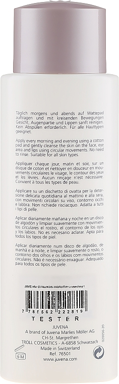 Мицеларна вода - Juvena Pure Cleansing Miracle Cleansing Water (тестер) — снимка N2