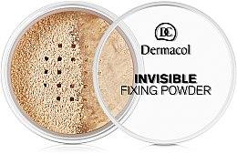 Парфюми, Парфюмерия, козметика Прозрачна фиксираща пудра - Dermacol Invisible Fixing Powder