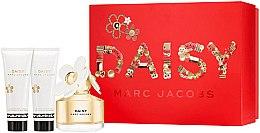 Парфюми, Парфюмерия, козметика Marc Jacobs Daisy - Комплект (тоалетна вода 50ml + душ гел 75ml + лосион за тяло 75ml)