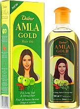 """Парфюмерия и Козметика Масло за коса """"Злато"""" - Dabur Amla Gold Hair Oil"""