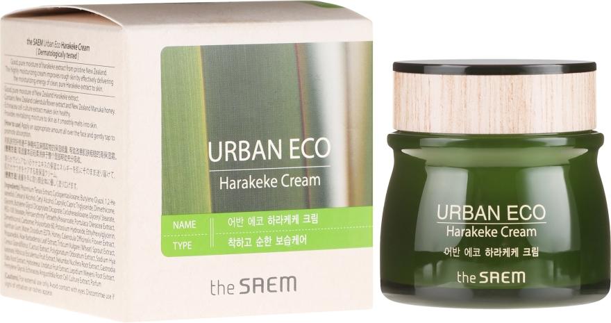 Подхранващ крем за лице - The Saem Urban Eco Harakeke Cream EX