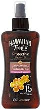 Парфюмерия и Козметика Сухо масло за тен - Hawaiian Tropic Protective Dry Spray Sun Oil SPF 15