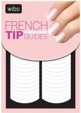Парфюмерия и Козметика Стикер-шаблон за френски маникюр - Wibo French Manicure Tip Guides
