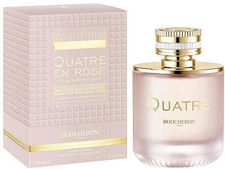 Boucheron Quatre En Rose Eau de Parfum Florale - Парфюмна вода