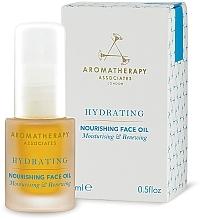 Парфюмерия и Козметика Подхранващо и овлажняващо масло за лице - Aromatherapy Associates Hydrating Nourishing Face Oil
